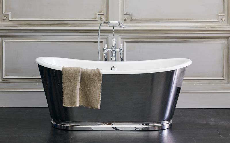 Spa Inspired Bathroom   For an extravagant spa like bathroom design, the Balthazar bath is the perfect addition