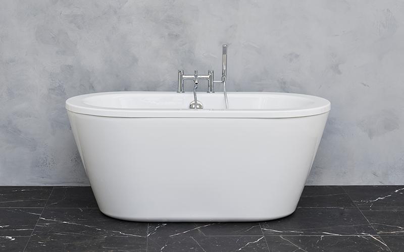 Spa Inspired Bathroom   Create an affordable spa like bathroom design with the Nouveau Petite luxury freestanding bath