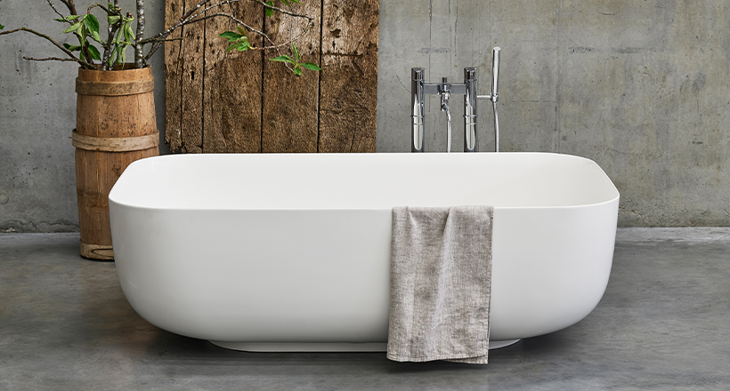 Duo ClearStone Bath