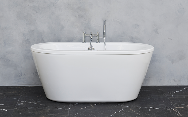 Luxurious Bathroom Design | With a variety of luxury soaking tubs, including affordable Cleargreen baths, creating a spa like bathroom has never been easier.